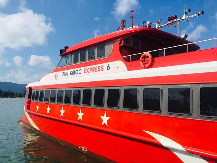 Tàu cao tốc Phú Quốc Express 6